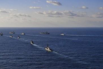 """Ударната група на САЩ в действие! Самолетоносачът """"Хари Трумън"""" е в Средиземно море"""