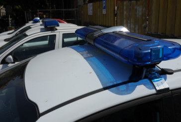 Жена потроши патрулки и рани полицаи