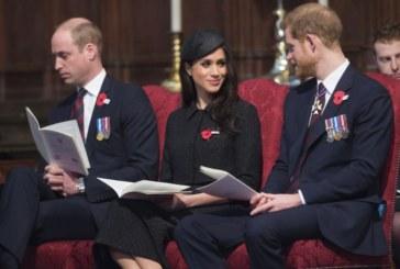 Принц Уилям едва не заспа по време на църковна служба