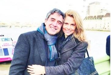 Плевнелиев взема синоптичката Деси Банова на лъскаво тържество за 60 бона в Гърция