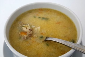 Супа от пиле и зеле