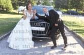 Футболистът Иван Димитров заведе под венчило красивата дъщеря на известни хлебари Петя Гегова
