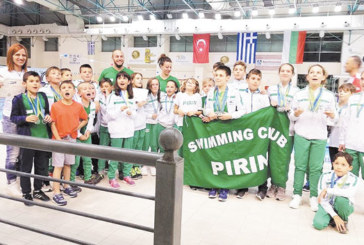 """Плувните надежди на """"Пирин"""" с 25 медала от """"Kavala Junior"""""""