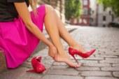 Как високите токчета променят краката