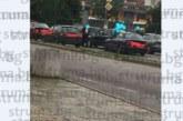 Кола на абитуриенти във верижен сблъсък! Три коли се нанизаха на магистралата