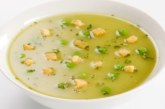 Картофена крем супа с овесени ядки