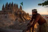 Бразилец си построи замък на плажа