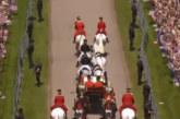 Един от конете на сватбата на Хари и Меган тотално подивя