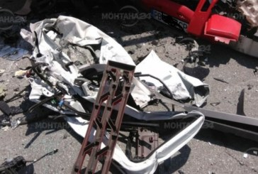 Жестока катастрофа на Е-79! Линейка лети към болницата