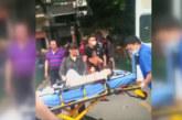 Куриери спасиха момче, падащо от шестия етаж