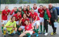 """Футболна националка от """"Спортика"""" игра с контузен глезен срещу азерките в Банско"""