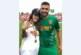 ФУТБОЛИСТ ОТ ПЕТРИЧКО С ДВОЕН ПРАЗНИК! Малкия Джаич коленичи на стадиона пред любимата си, изпод екипа си извади годежен пръстен…