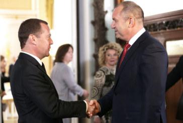 """Радев поиска нов руски газов """"Поток"""" от Медведев"""