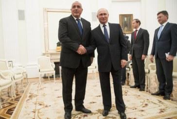 Борисов и Путин обсъдиха сътрудничеството между София и Москва
