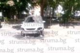 Struma.bg с информация за огнената вендета! Ето на кого е опожарената кола в центъра на Благоевград