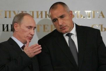 Борисов носи на Путин позлатена икона, рисувана от монах на пост