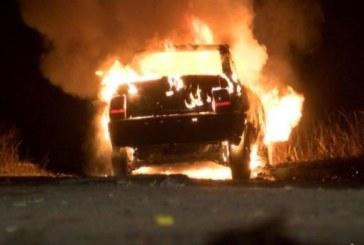 ОГНЕН АД! 2 коли горяха като факли