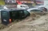 Водна стихия удари Анкара, има ранени