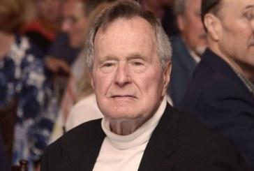 Приеха в болница Джордж Буш-баща