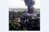 7 огнеборци ранени при гасене на пожар