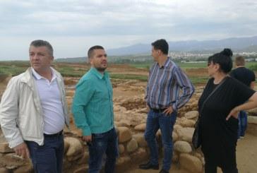 Общинските съветници от ГЕРБ посетиха разкопките край Благоевград