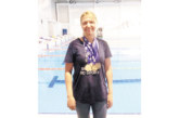 """Плувкиня на """"GD Sport"""" с 4 титли от открития шампионат на Гърция за ветерани, подрастващите настъпват на 2 фронта"""