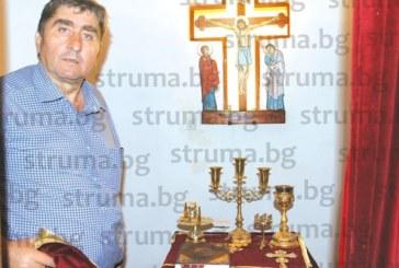 Бизнесмен на 54 г. с 3-ма синове изпълни клетвата си към Господ да вдигне църква, ако го дари с момче