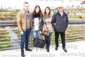 Зам. кметът на Сатовча Р. Орачев стана дядо, с прекрасна внучка го зарадва дъщерята Марчела, гастарбайтер в Германия
