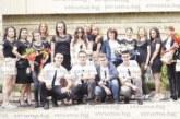 """Абитуриенти от пернишката ПМГ """"Христо Смирненски"""" се включиха в кампанията """"С тениска на бала"""""""