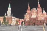Волейболният национал от Брезник Св. Гоцев се разходи по Червения площад