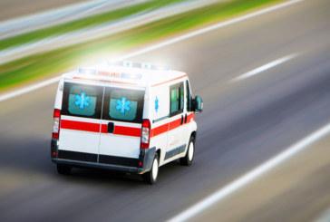 Страшна каскада на пътя Добринище-Места! Мотоциклетист се заби в бетонна ограда