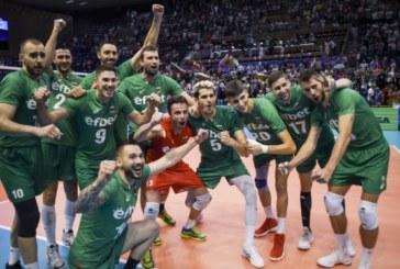 Убедителна победа на националите ни по волейбол срещу Канада