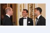Гришо се срещна с принц Уилям