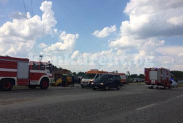 АД НА ПЪТЯ! Таксиметров шофьор загина на място в зверска катастрофа