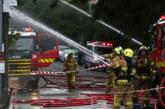 Огнен ад в центъра на Лондон