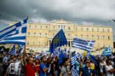 В Атина е страшно! Централният площад почерня от противници на договора с Македония