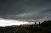 Гръмотевична буря се разрази над София