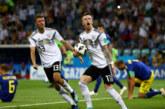 Властелинът Германия се измъкна от пепелта срещу Швеция