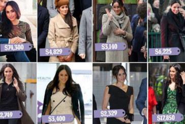 Меган Маркъл с гардероб за милион паунда