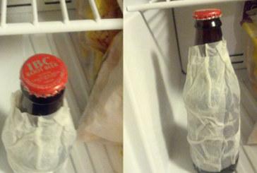 Как да изстудите бира за 5 минути