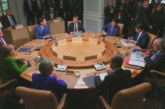 Срещата на Г-7 приключи със скандал