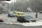 Пороен дъжд наводни Бургас