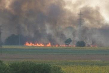 Голям пожар в покайнините на Пловдив