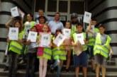 Доброволците  от Детското полицейско управление – Кочериново се дипломираха