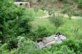 Кола излетя край Симитли, две момичета са ранени