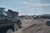 Страшна катастрофа! Цистерна с олио се обърна на магистралата, автобус изхвърча от пътя