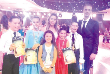 """Танцьори на """"Импулс"""" дебютираха с бронз на оупъна в Несебър"""