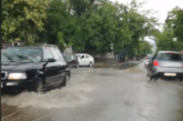 Улиците в Благоевград се превърнаха в реки /ВИДЕО/