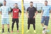 Националът Спас Делев разпусна с джитбол с футболисти от петричкото село Ключ
