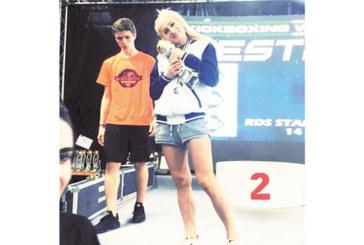 Спортист №1 на Благоевград А. Ситнилска с каре медали от най-силната световна купа по кикбокс